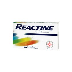 Johnson & Johnson Reactine 6 Compresse 5mg+120mg Rp