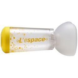 L'espace Camera Distanziatrice con maschera pediatrica colore giallo