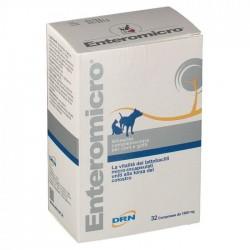 Drn Enteromicro 32 compresse alimento complementare per cani e gatti