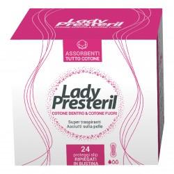Corman Lady Presteril Pocket Proteggi Slip 24 pezzi