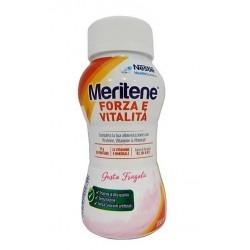 Nestle' Meritene Forza e Vitalità Drink Fragola 200 ml integratore energetico