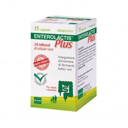 Sofar Enterolactis Plus 15 capsule integratore di fermenti lattici