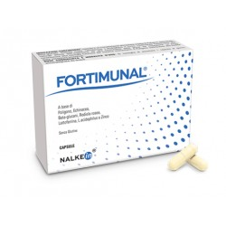 Nalkein Pharma Fortimunal 15 capsule integratore per difese immunitarie