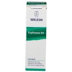 Weleda Euphrasia D3 collirio 10 ml per occhi rossi