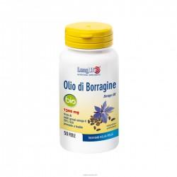 Longlife Olio di Borragine Bio 50 perle integratore per ciclo mestruale