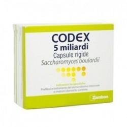 Zambon Codex 12 capsule 5 miliardi 250 mg farmaco per la diarrea