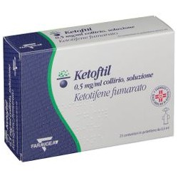 Oftagest Ketoftil 0,5 mg/ml collirio monodose per allergia