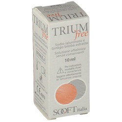 Sooft Trium Free gocce oculari 10 ml per occhi secchi