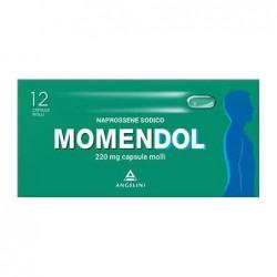 Angelini Momendol 12 capsule molli 220 mg farmaco analgesico