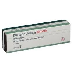Janssen Cilag Daktarin gel orale antimicotico 2% 80 g