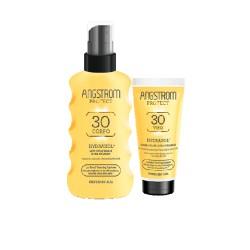 Perrigo Italia Angstrom Protect latte spray corpo SPF 30 + crema viso SPF 30