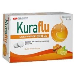 Kuraflu Gola Limone/miele 20 Compresse
