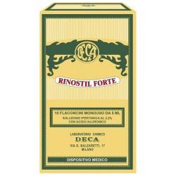 Rinostil Forte Soluzione ipertonica per la congestione nasale 10 flaconcini x 5 ml