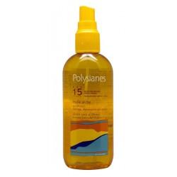 Klorane Les Polysianes Olio Secco Spf 15 Per Corpo Capelli 150 Ml