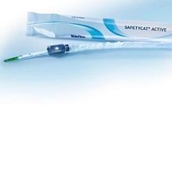 Safetycat Active Ergothan Catetere Vescicale Autolubrificato 40 Cm Ch 12