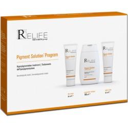 Pigment Solution Program Kit Crema 30 Ml + Crema 30 Ml + Detergente 100 Ml