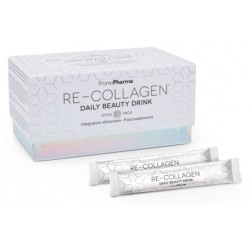 Promopharma Re-collagen Daily Beauty Drink Integratore per il collagene 20 Stick