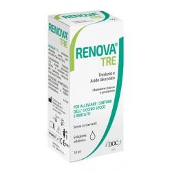 Doc Generici Renova Tre Collirio a Base Di Trealosio e Acido Ialuronico 10 ml