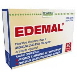 Crashmed Pharma Edemal Integratore Anticellulite 30 Compresse