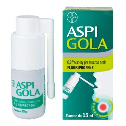Bayer Aspi Gola 0,25% spray per la mucosa orale 15 ml
