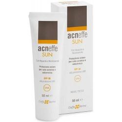 Cieffe Derma Acneffe Sun Spf 30 Alta Protezione Uvb per Cute Acneica e Seborroica 50 ml