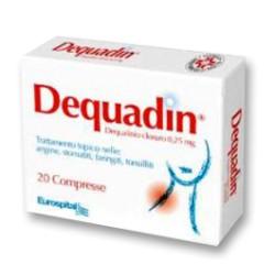 Eurospital Dequadin 20 Compresse 0,25 mg