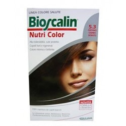 Bioscalin Nutri Color 5,3 Castano Chiaro Dorato Sincrob 124 Ml