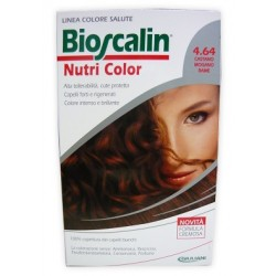 Bioscalin Nutri Color 4,64 Castano Mogano Rame 124 Ml