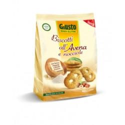 Giusto Senza Glutine Biscotti All'avena Con Nocciole 250 G
