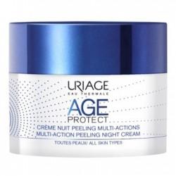 Age Protect Crema Notte Peeling Multi Azione 50 Ml