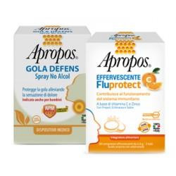 Apropos Spray No Alcol + C Fluprotect Effervescente