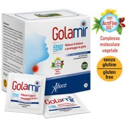 Aboca Golamir 2act Rimedio per il Mal di Gola 20 Compresse