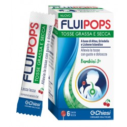 Fluipops 6 Lecca Lecca Gusto Ciliegia Per Tosse