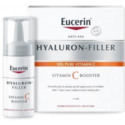 Eucerin Hyaluron-filler Vitamin C Booster Siero anti età 3 X 8 ml