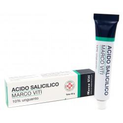 ACIDO SALICILICO (MARCO VITI)*ung derm 30 g 10%