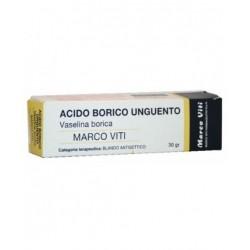 ACIDO BORICO (MARCO VITI)*ung derm 30 g 3%