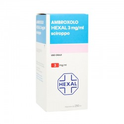 AMBROXOLO (HEXAL)*scir 250 ml 3 mg/ml