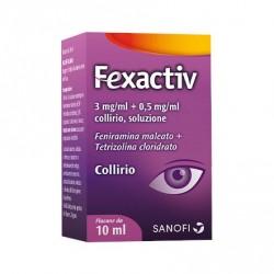 Sanofi Fexactiv collirio per allergia 10 ml