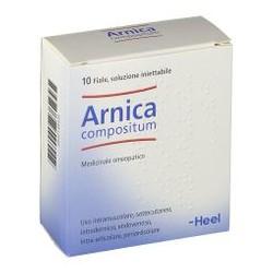 Guna Arnica compositum Heel 10 fiale soluzione iniettabile