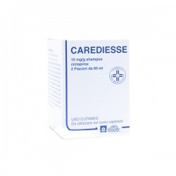 Carediesse shampoo per dermatite seborroica 2 flaconi 60 ml
