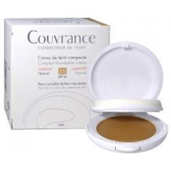 Avène Eau Thermale Avene Couvrance Crema Compatta Colorata Nf Comfort Naturale 9,5 G