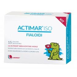Laborest Actimar Iso Kit 15 Fialoidi + Nebulizzatore Nasale