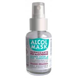Poli Distillerie Alcol Mask Igienizzante per Mascherine 50 ml