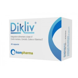 Konpharma Dikliv Integratore per il benssere epatico 40 capsule