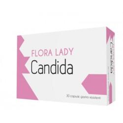 Flora Lady Candida 30 Capsule Gastroresistenti