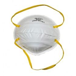 Formesa Mascherina Facciale Filtrante Ffp2 A Conchiglia Senza Valvola Di Espirazione Cotone Bianco Monouso 1 pezzo