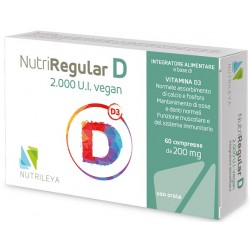 Nutriregular D 2000ui Veg60 compresse