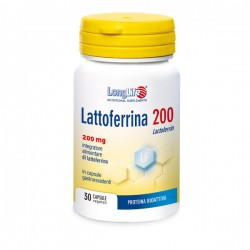Longlife Lattoferrina 200 Integratore 30 Capsule