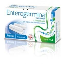 Sanofi Enterogermina 12 Capsule Alterazione Flora Batterica 2 Miliardi