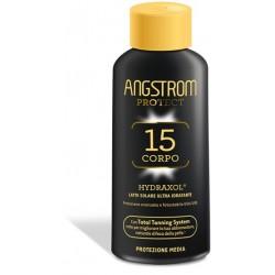 Angstrom Protect Hydraxol Latte Solare Protezione SPF 15 200 ml